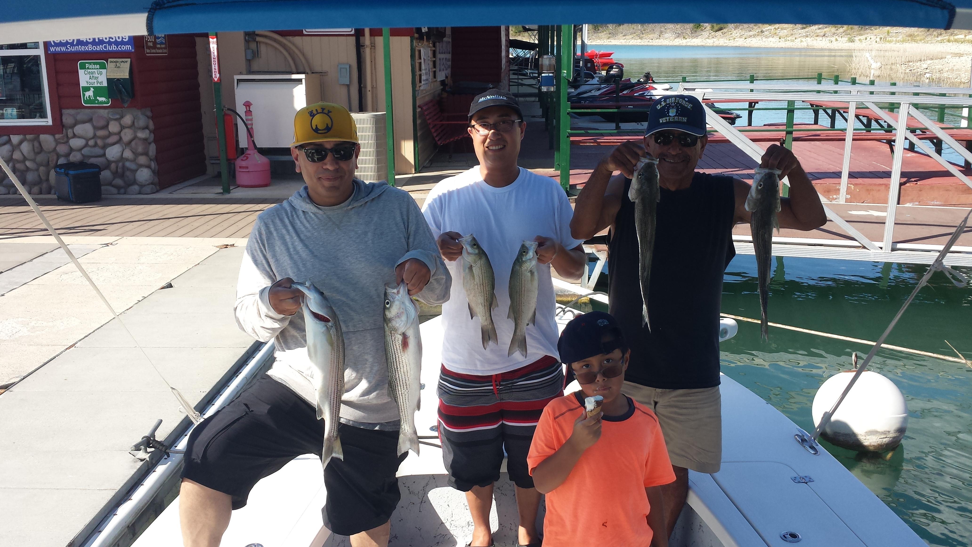 Canyon Lake, Texas Striped Bass